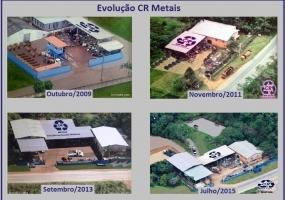 CR Metais - Evolução