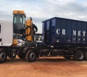 Estrutura - Caminhão Bi-Truck + Rollon + Garra Sucateira. (fd743)